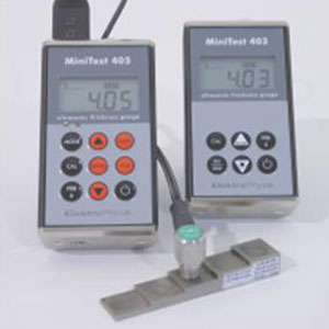 德国EPK Minitest403/405超声波壁厚测厚仪